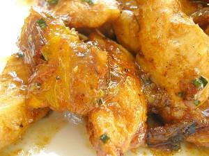 poulet à la cannelle et au miel