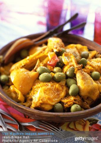 Le tajine de poulet à la marocaine : un vol direct pour le Maroc